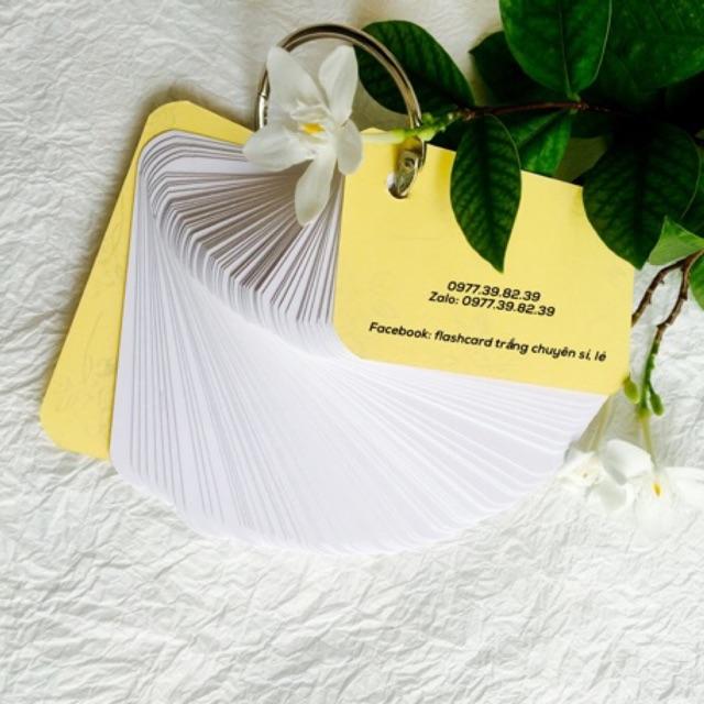 FlashCard 300 thẻ Học Từ Vựng Ngoại Ngữ Trung Nhật Anh Hàn Đức Đáng Yêu