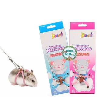 Yếm dây dắt đi chơi cho Hamster, Sóc Bông, Sóc Bay... thumbnail