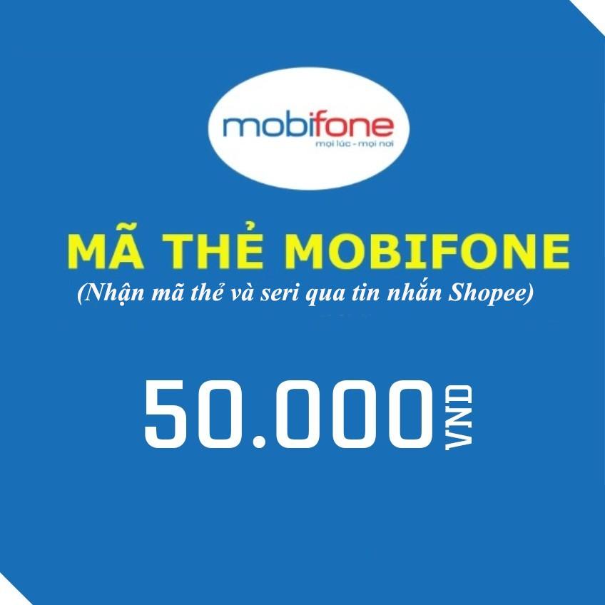Mã thẻ cào điện thoại mobifone 50k - 2496702 , 676187224 , 322_676187224 , 50000 , Ma-the-cao-dien-thoai-mobifone-50k-322_676187224 , shopee.vn , Mã thẻ cào điện thoại mobifone 50k