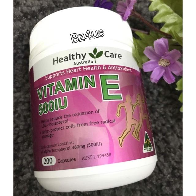 Vitamin E heathycare 200v - cos2829 giảm 10%