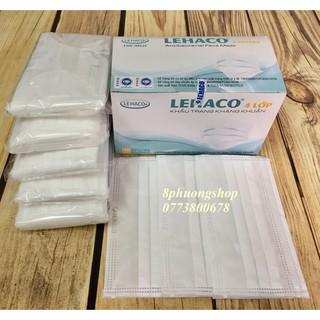 Khẩu trang Y tế Trắng 4 lớp kháng khuẩn 50 cái hộp thumbnail