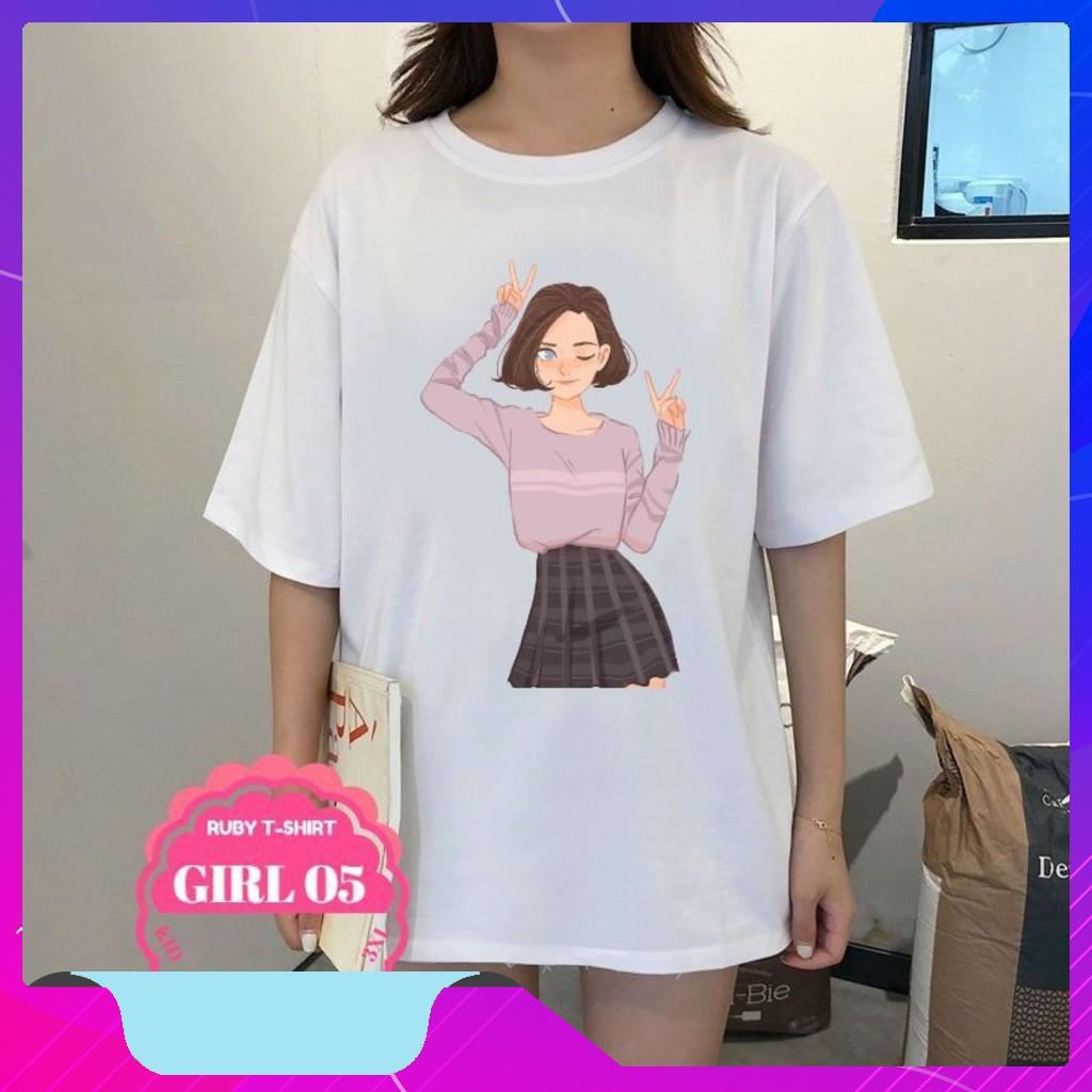 *Yêu thích* ÁO THUN Nữ thời trang cá tính hình hoạt hình cute,áo thun oversize,áo thun phối sơ mi - 14720380 , 2786896773 , 322_2786896773 , 218900 , Yeu-thich-AO-THUN-Nu-thoi-trang-ca-tinh-hinh-hoat-hinh-cuteao-thun-oversizeao-thun-phoi-so-mi-322_2786896773 , shopee.vn , *Yêu thích* ÁO THUN Nữ thời trang cá tính hình hoạt hình cute,áo thun oversiz