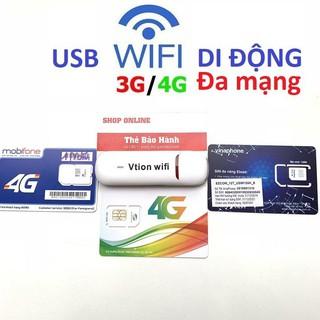 (SIÊU RẺ SIÊU TỐT) CỦ PHÁT WIFI DI ĐỘNG 3G 4G Vtion Hifi5S – HÀNG CHẤT LƯỢNG CAO