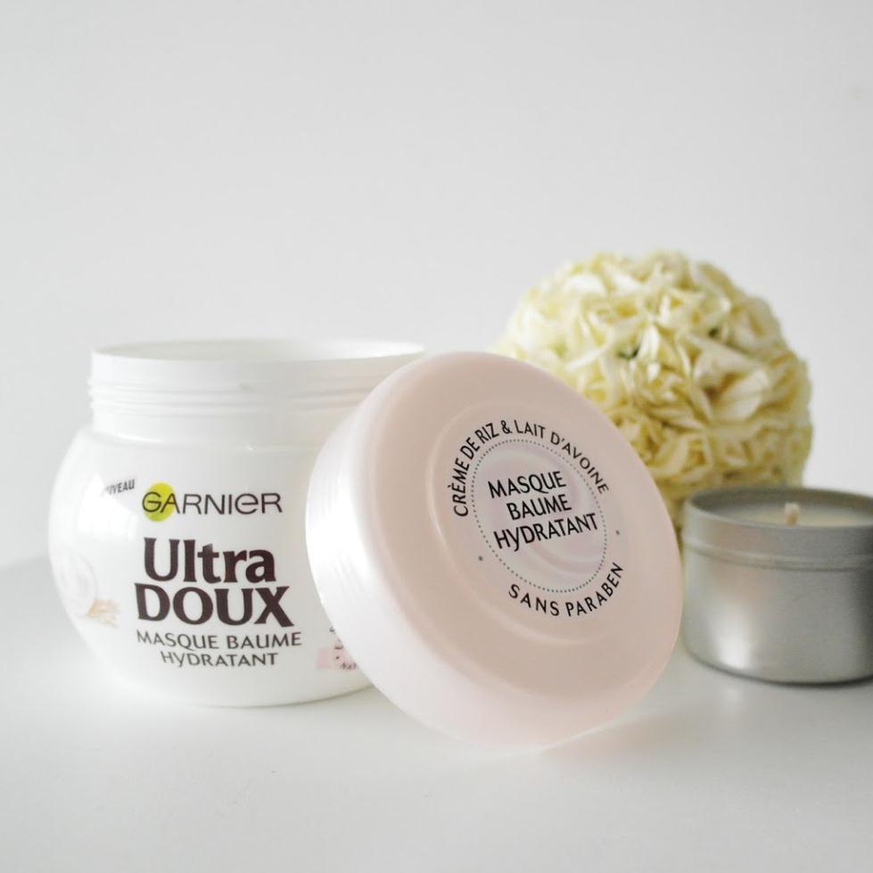 Garnier Ultra Doux Masque Baume Hydratant e - Mặt Nạ Ủ Tóc Yến Mạch 300ml