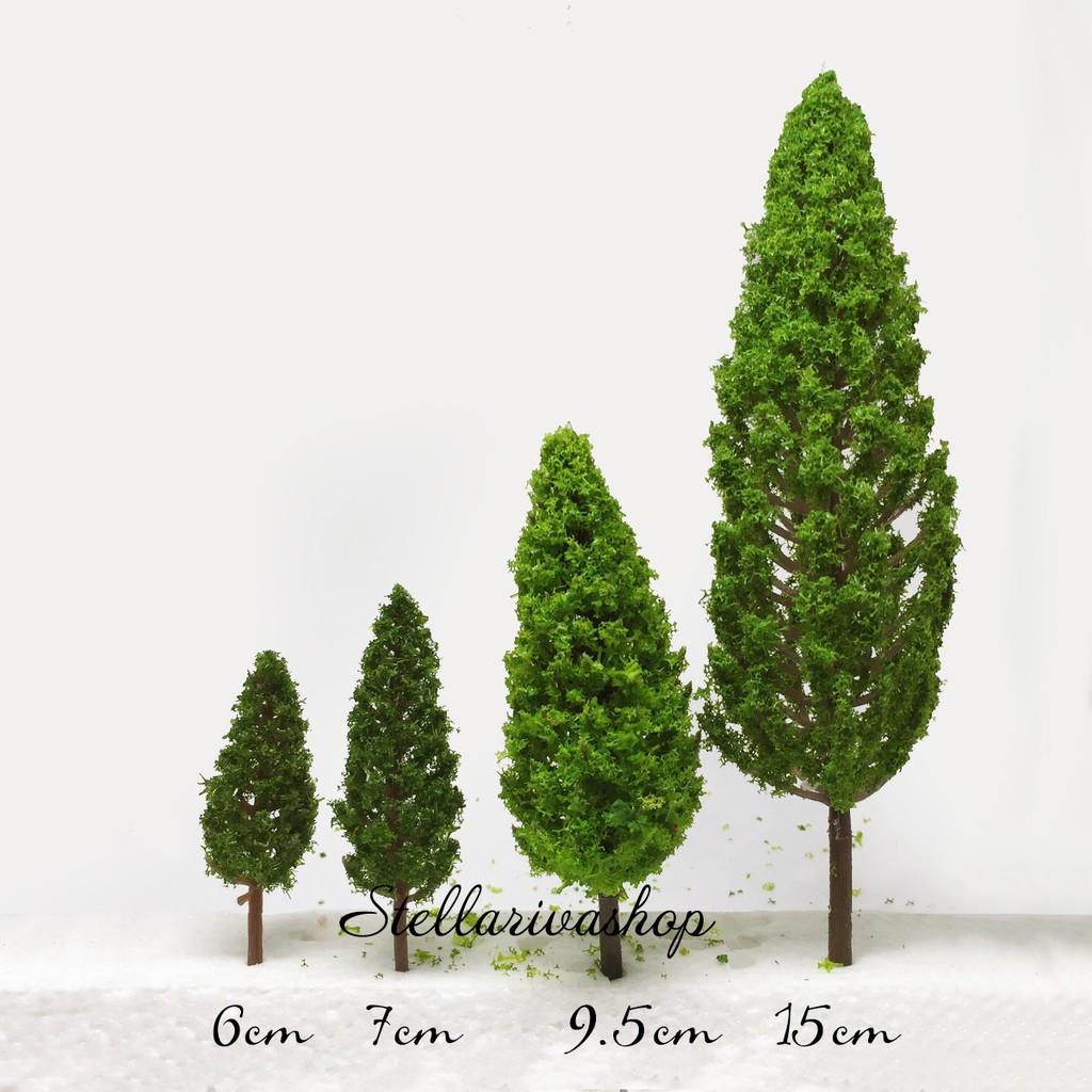 Mô Hình các loại cây xanh làm tiểu cảnh terrarium/ mô hình trang trí nhà tăm tre, sen đá