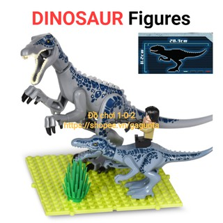 Lego Khủng Long Baryonyx 28cm Jurassic World hãng Lele