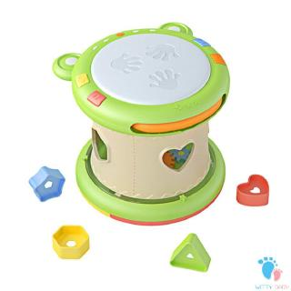 Kids Baby Hand Drums Kids Pat Drum Musical Instruments Baby Toy 6-12 Months