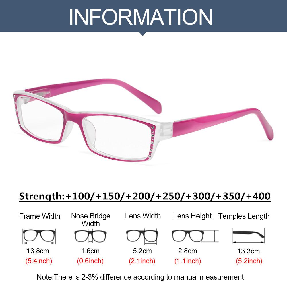 SOFTNESS Fashion Anti-Blue Light Eyeglasses Comfortable Ultra Light Frame Reading Glasses Portable Women Men Antifatigue Shiny Eye Protection/Multicolor