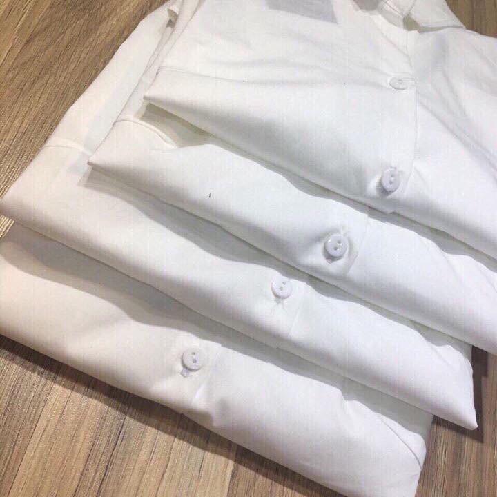 áo sơ mi trắng dài tay