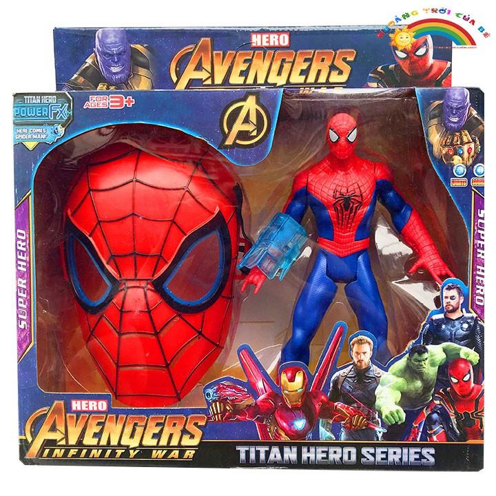 Đồ Chơi Trẻ Em Spiderman mô hình mặt nạ KB1759 [ĐỒ CHƠI TRÍ TUỆ]