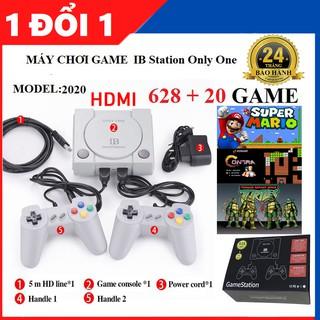 Máy Chơi Game 628 trò nes + 20 trò mới , Chuẩn HDMI , playstation , tay cầm game , máy chơi game , ps4 , bảo hành 1 năm thumbnail