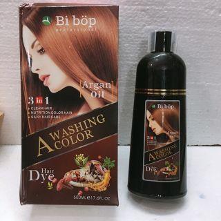 Dầu gội Nâu tóc tiện lợi Bibop thảo dược đến từ Nhật Bản