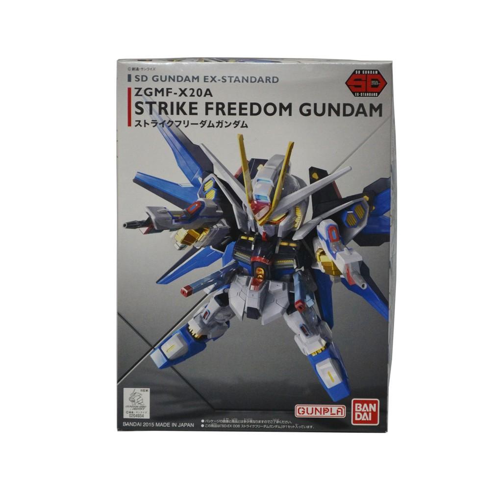 Mô Hình Lắp Ráp Bandai SD EX-Standard 06 Strike Freedom Gundam