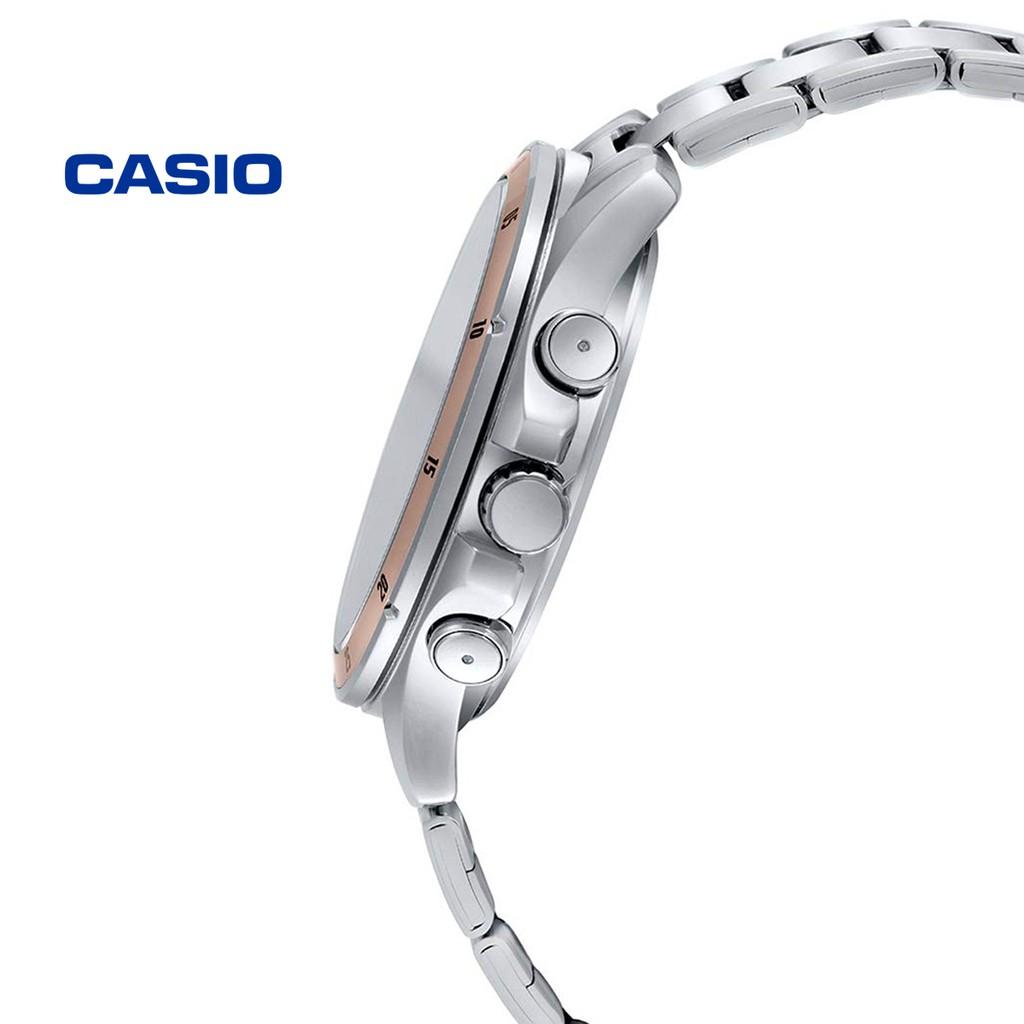 Đồng hồ nam Casio MTP-1374D-1A2VDF chính hãng - Bảo hành 1 năm, Thay pin miễn phí
