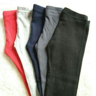 Combo 5 quần nỉ tăm bé gái trộn màu hàng VNXk