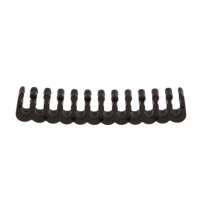 Kẹp dây cáp bằng pp màu đen 6/8/24 pin cỡ 3.0-3.2 mm