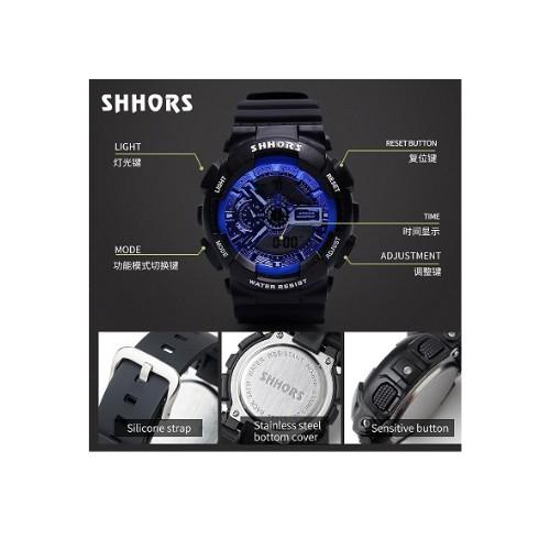 Đồng Hồ Kim Unisex SHHORS 692BB điện tử , Thể Thao Chống Nước