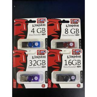[Mã ELFLASH5 giảm 20K đơn 50K] USB Kingston DT101 4GB 8GB 16GB 32GB 64GB