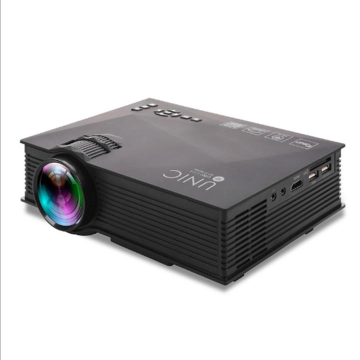 Máy chiếu mini - Máy chiếu mini LEJIADA UC-46 ,1080p, Wifi