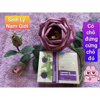 Thực phẩm bảo vệ sức khỏe Essential Botanics Yohimbe & Siberian ginseng thumbnail