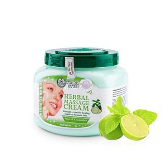 Kem massage thảo dược Herbal Massage Cream Hollywood Style 567g thumbnail