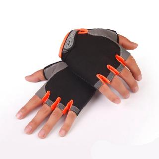 Men Breathable Cycling Fitness Climbing Outdoor Sport Half Finger Gloves