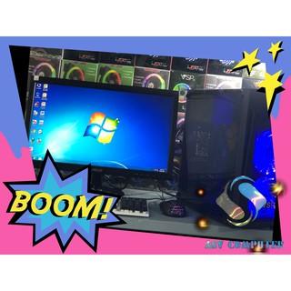 Máy vi tính chơi game A4 6300K Ram 8G Vga 4G + màn hình LCD 19in