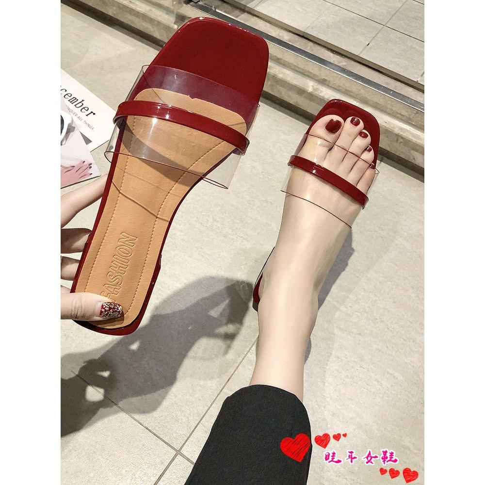☆spot stock ☆Net red ins slippers women wear 2019 summer new