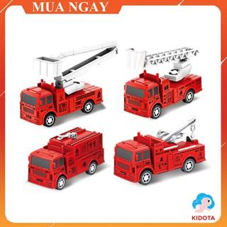 Đồ chơi mô hình xe cứu hỏa dành chất liệu nhựa an toàn cho bé XMH03 thumbnail