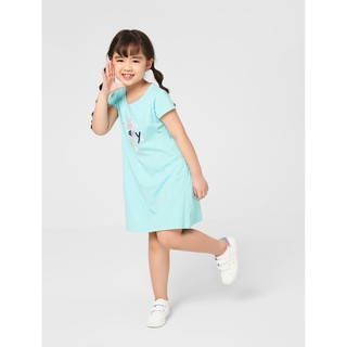 Váy liền bé gái chất liệu cotton in hình/họa tiết CANIFA 1DS20S027