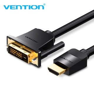 [Mã ELFLASH5 giảm 20K đơn 50K] Converter - Cáp chuyển đổi HDMI to DVI Vention ( Có thể chạy đảo chiều )