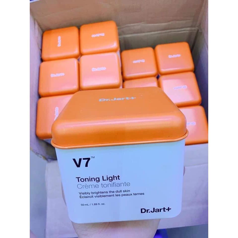 Kem dưỡng trắng da và trị thâm nám Dr.Jart+ V7 Toning Lig