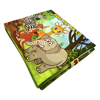 Sách Vải Pipovietnam Động Vật Ăn Cỏ