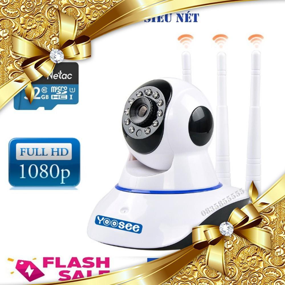 Camera Yoosee Full HD 1080P Kèm thẻ nhớ hãng 32G Class 10