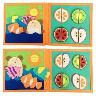 Sách vải Ú Òa – Dành cho bé mầm non từ 0 – 2 tuổi