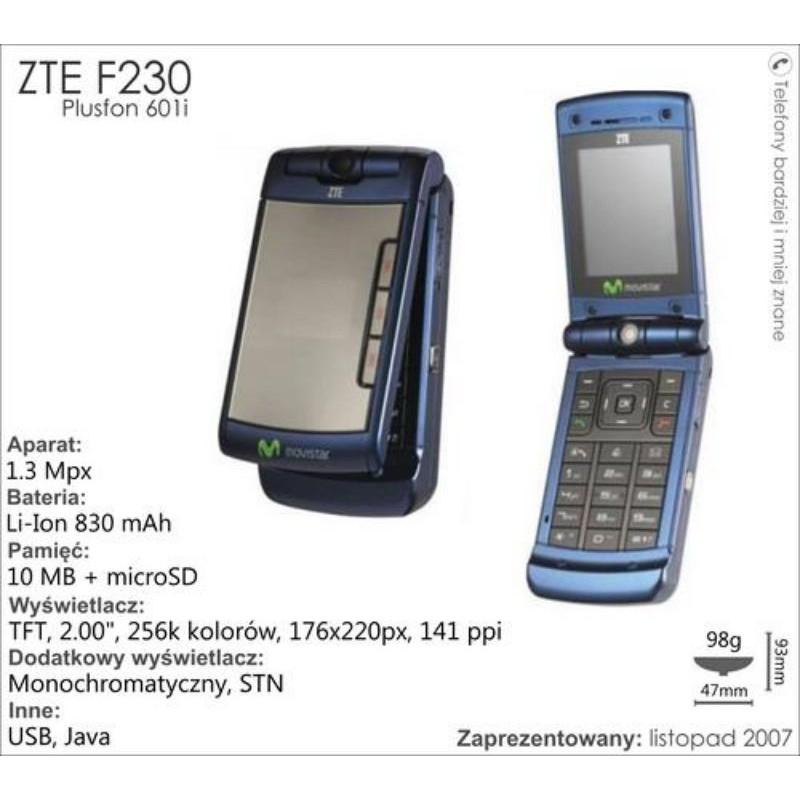 Điện thoại ZTE F230 cổ độc lạ