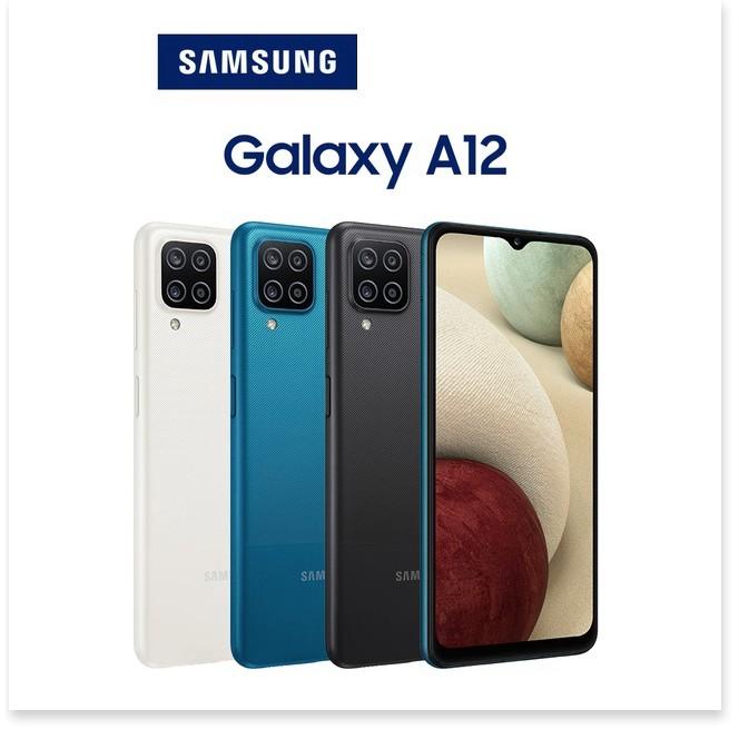 Điện thoại Samsung Galaxy A12 4GB/128GB - Hàng Chính Hãng - Bảo Hành 12