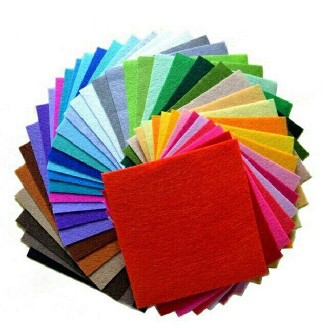 Vải dạ nỉ làm đồ handmade 30*30cm - 3475800 , 778204022 , 322_778204022 , 6000 , Vai-da-ni-lam-do-handmade-3030cm-322_778204022 , shopee.vn , Vải dạ nỉ làm đồ handmade 30*30cm