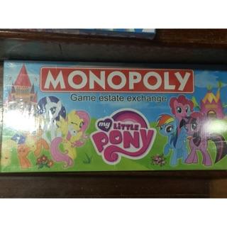 CỜ TỶ PHÚ MONOPOLY PHIÊN BẢN NGỰA PONY và Toy Story