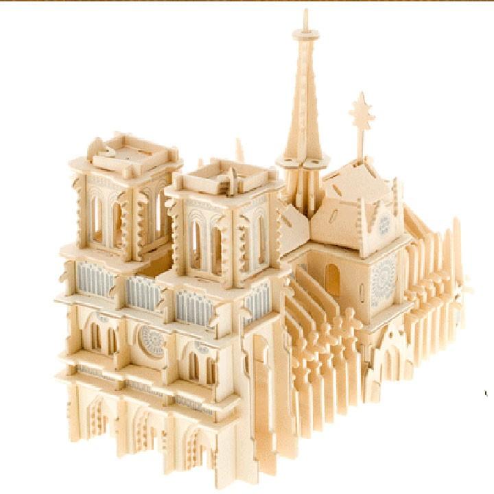 Bộ lắp ghép 3D Nhà thờ Đức Bà Paris - 13596210 , 209978730 , 322_209978730 , 159000 , Bo-lap-ghep-3D-Nha-tho-Duc-Ba-Paris-322_209978730 , shopee.vn , Bộ lắp ghép 3D Nhà thờ Đức Bà Paris