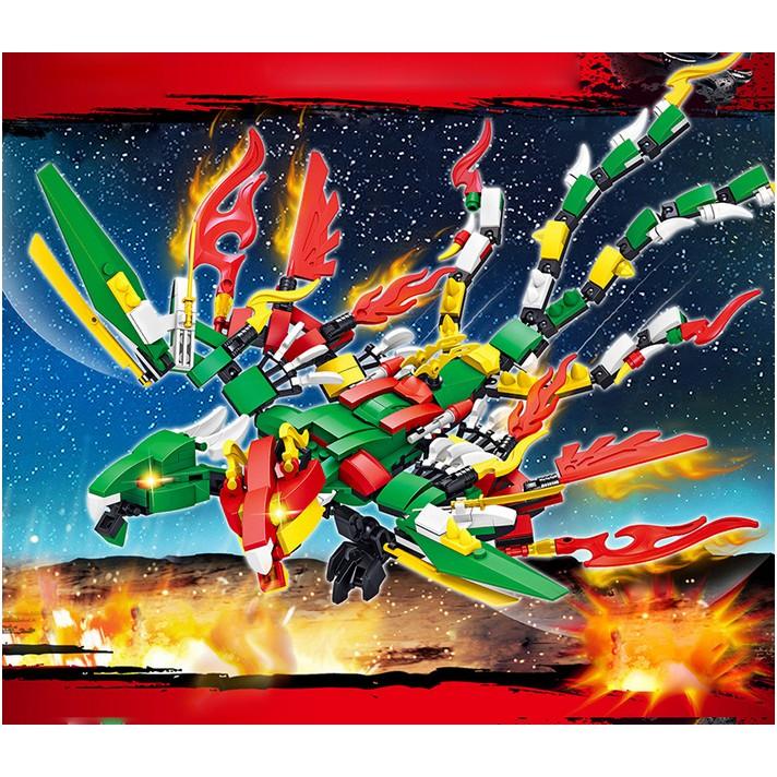 [ SHOPEE Thanh lý ] Bộ Xếp Hình Lego Chiến Bình Rông lửa