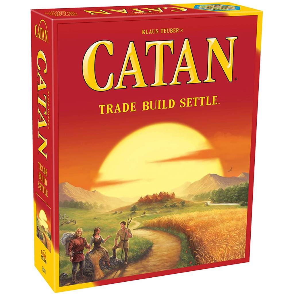 BỘ BOARD GAME CATAN
