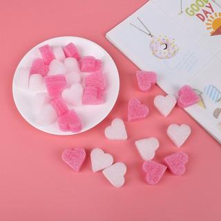 [BUDD&vn] 1Pack kid diy sludge filler toy soft clay mud heart love beads foam accessories