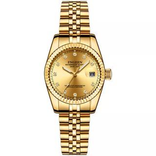 Đồng hồ nữ FNGEEN f7008E không thấm nước mặt tròn kính trong suốt đẳng cấp quý cô vỏ thumbnail