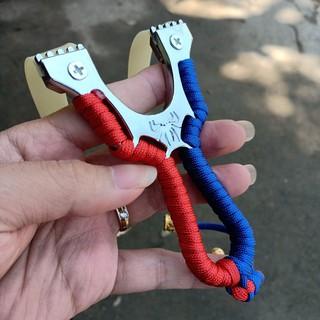 Ná cao su kim loại con nhện giá rẻ nhất siêu chuẩn – Tặng Thêm 1 Dây Khi Mua 2 Ná , Dây Dẹp 1mm