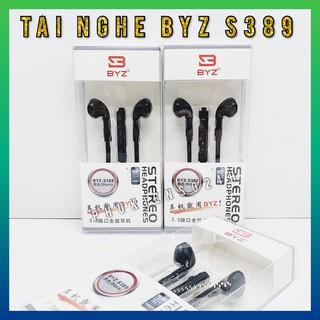 Tai Nghe Nhét Tai BYZ S389 - hàng chính hãng ( Trắng - đen )