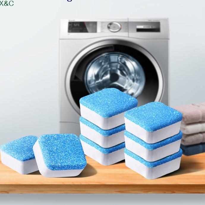 Viên Tẩy Vệ Sinh Lồng Máy GiặtI Diệt khuẩn và Tẩy chất cặn Lồng máy giặt hiệu quả