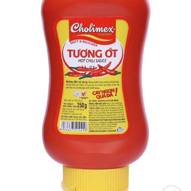 Tương ớt Cholimex chai chai nhựa 250 g