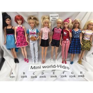 Búp bê Barbie chính hãng. Búp bê Barbie vintage. Mã Barbie13