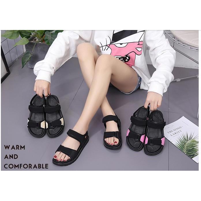 sandal nữ quai hậu trẻ đẹp